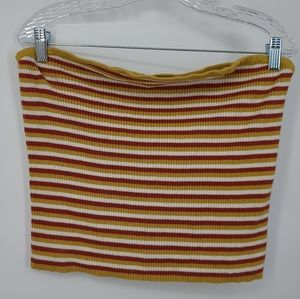 4/$25 American Eagle Ribbed Striped Tube Top